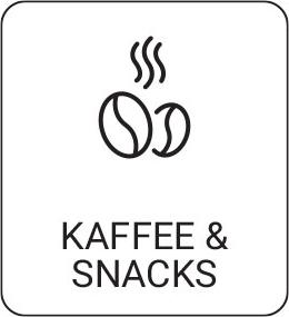 Kaffee und Snacks